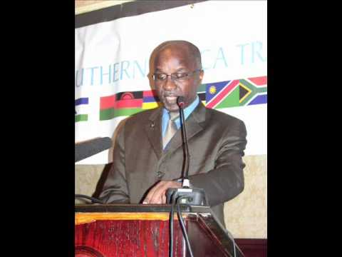Southern African Development Community Executive Sectretary Tomaz Augusto Salomao.wmv