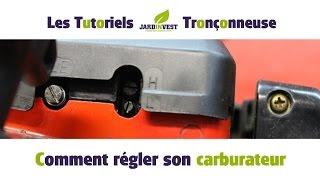 [Tutoriel Tronçonneuse n°12] : Comment régler le carburateur de votre tronconneuse