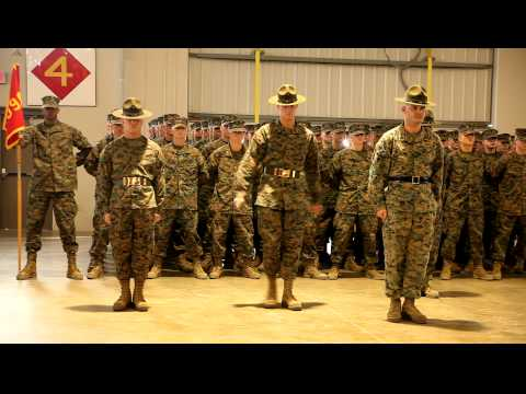 Introduction of Parris Island Drill Instructors-Platoon 1098