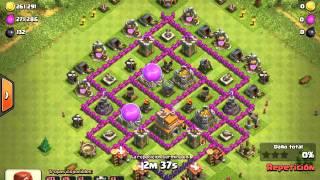 Clash of Clans-Ataque Farming Ayunta 7.