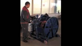 Устройство намотки троса, кабеля, каната УНК-11.(Видеоролик демонстрирует работу Устройства намотки кабеля УНК-11- станка, предназначенного для быстрой,..., 2012-08-08T08:44:24.000Z)