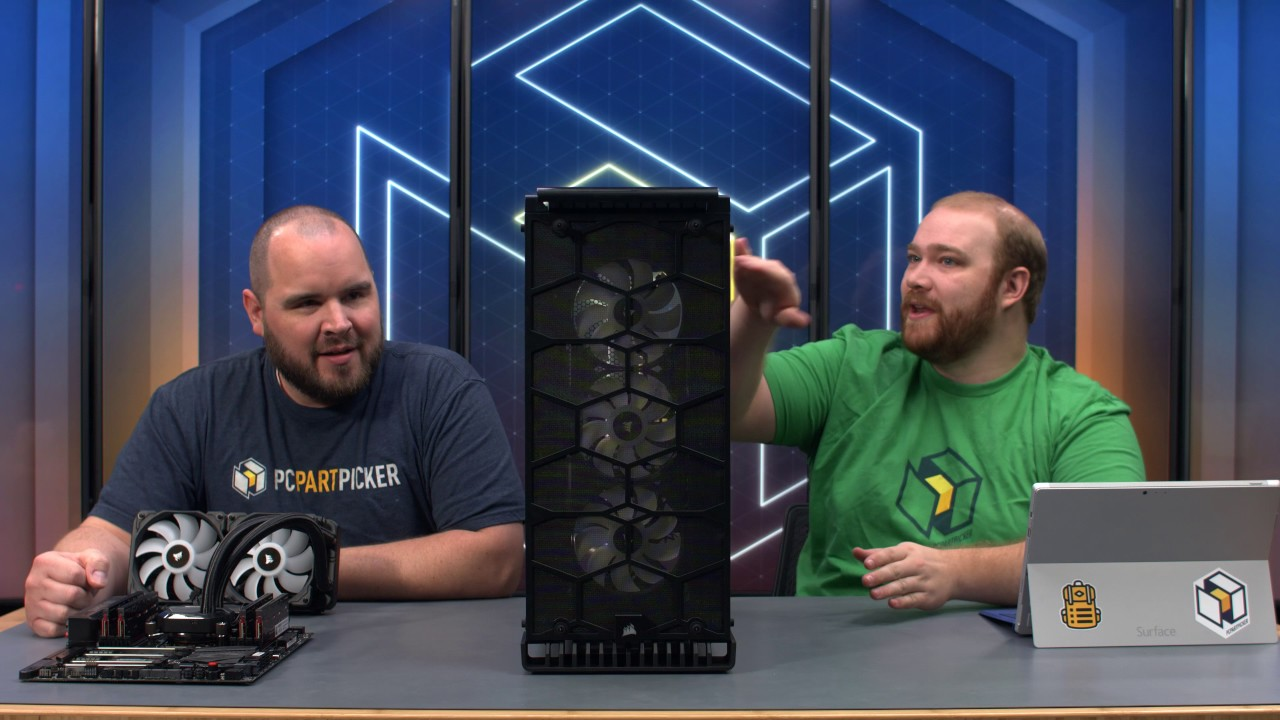 First Impressions Corsair Crystal 570x Rgb Livestream Youtube Black