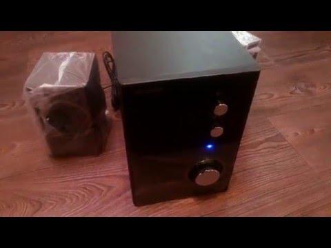 Акустическая система 2.1 Microlab M-528 - видео обзор - YouTube