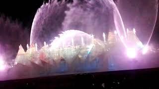 Птица Феникс. Красивая сказка! Лазерное шоу. Сингапур. Сентоза.