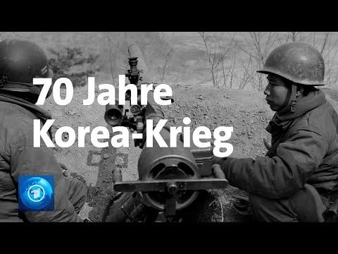 Beginn des Korea-Kriegs