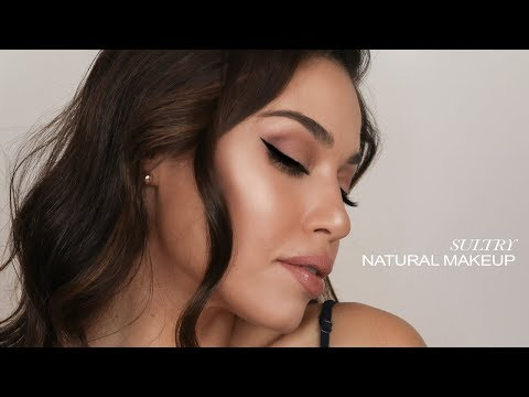 SULTRY & GLOWY NATURAL MAKEUP | EMAN