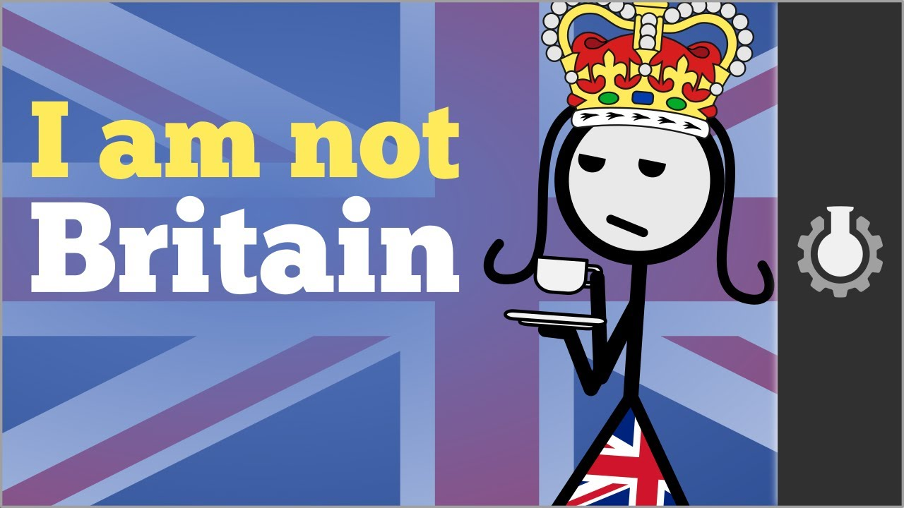Between Great Difference British Isles And Britain Uk