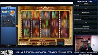 Opening now 4000€ Bonus Hunt!!!