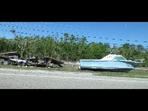 Driving US 1 to Key West 1 month after the hurricane