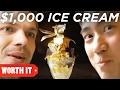 $1 Ice Cream Vs. $1,000 Ice Cream
