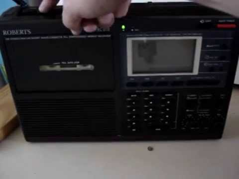 Roberts RC818 Radio Cassette Player