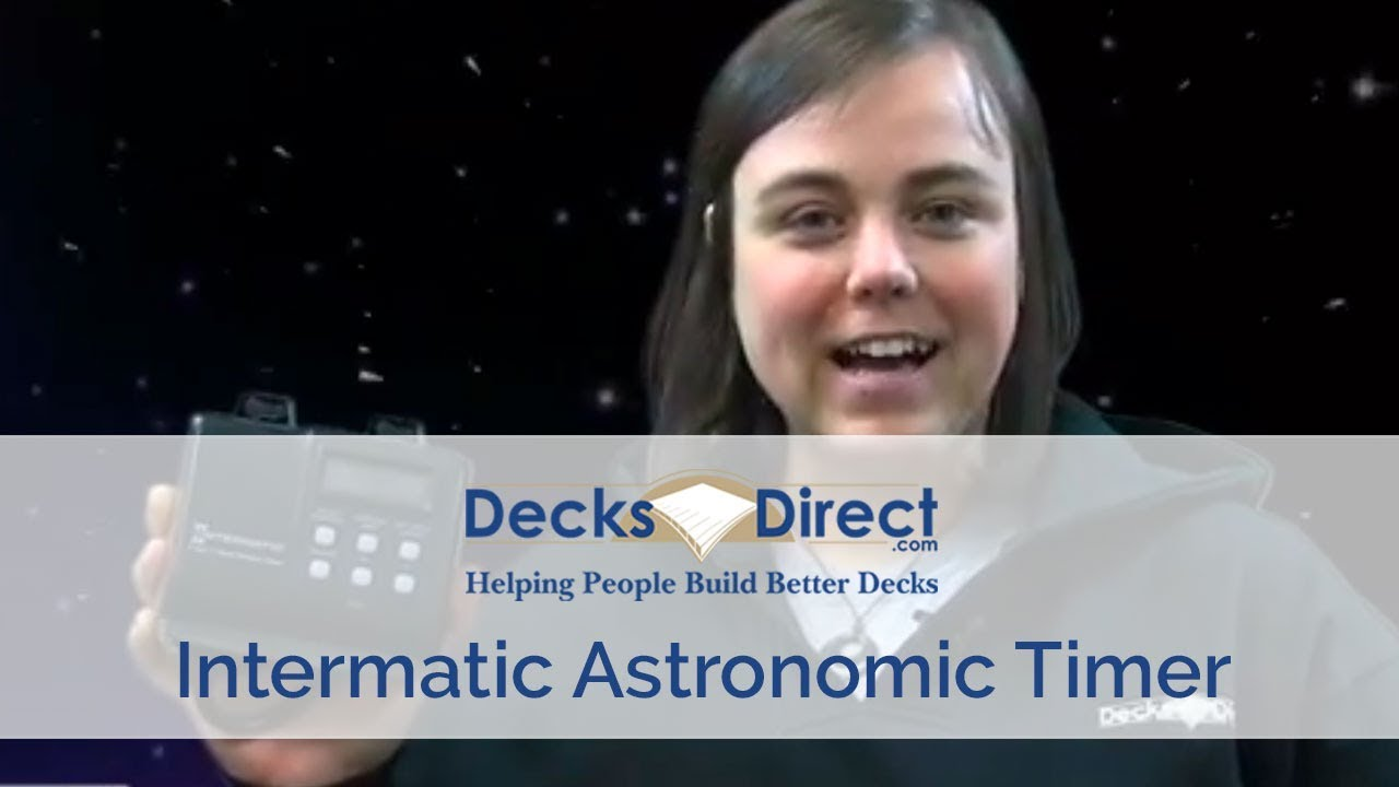 Intermatic Astronomic Timer - YouTube
