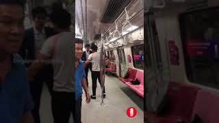Fight at East West Line