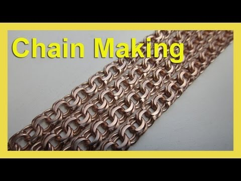 "How to make chain ""Bismark"" - Как делать цепь Бисмарк - Chain making"
