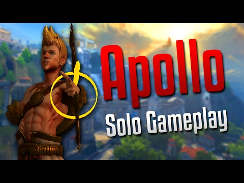 Smite: Back with the Hunter Solo- Apollo Solo Gameplay