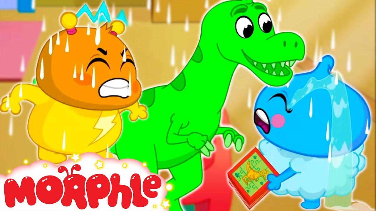 Dinosaur Puzzle! | Morphle | Orphle the Magic Pet Sitter | Fun Cartoons