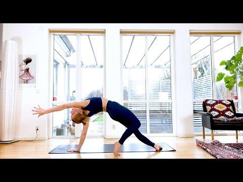 yoga vinyasa flow 35 min  youtube