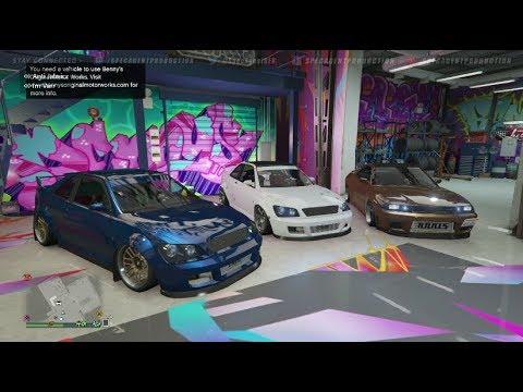 Live! - GTA 5 Online (XB1) | Open Stance Car Meet? Doomsday Heist DLC Talk, Cruising, & Chillin