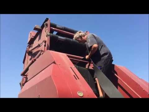 Trouble with the Round Baler