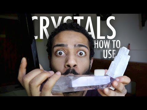 How To Use Crystals And Stones (Feeling Crystal Energy)