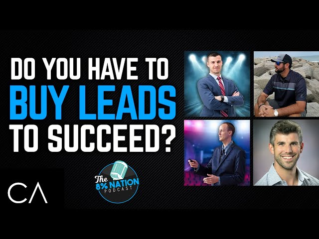 Do You HAVE To Buy Leads To Succeed As An Insurance Agent?