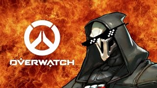 world s first overwatch play of the game parody meme reaper mlg montage pre beta gameplay
