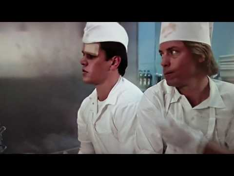 """The Movie Stuck On You, Working At """"Quickie Burger"""""""