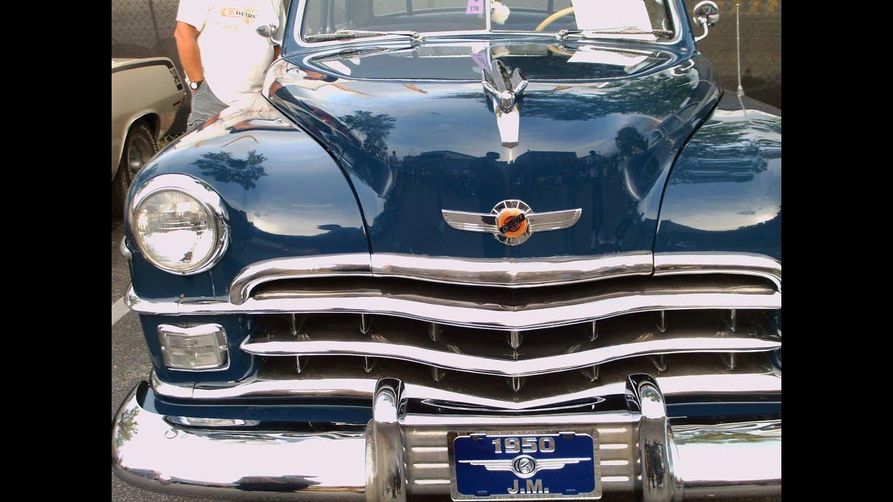 1950 Chrysler Windsor 2 Door Sedan BluOT032412 - YouTube