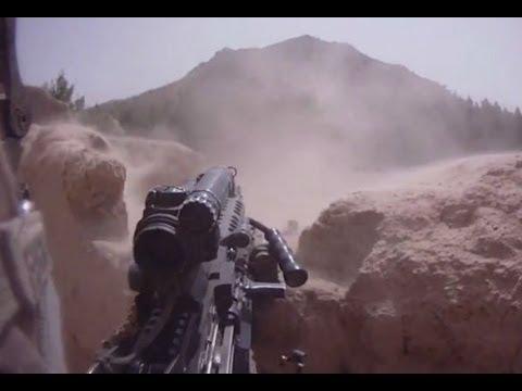 Bravos First Tour In Afghanistan (Helmet Cam)