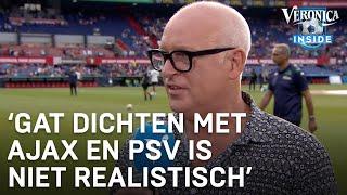 """René van der Gijp over titelkansen Feyenoord: """"Gaat niet gebeuren"""""""
