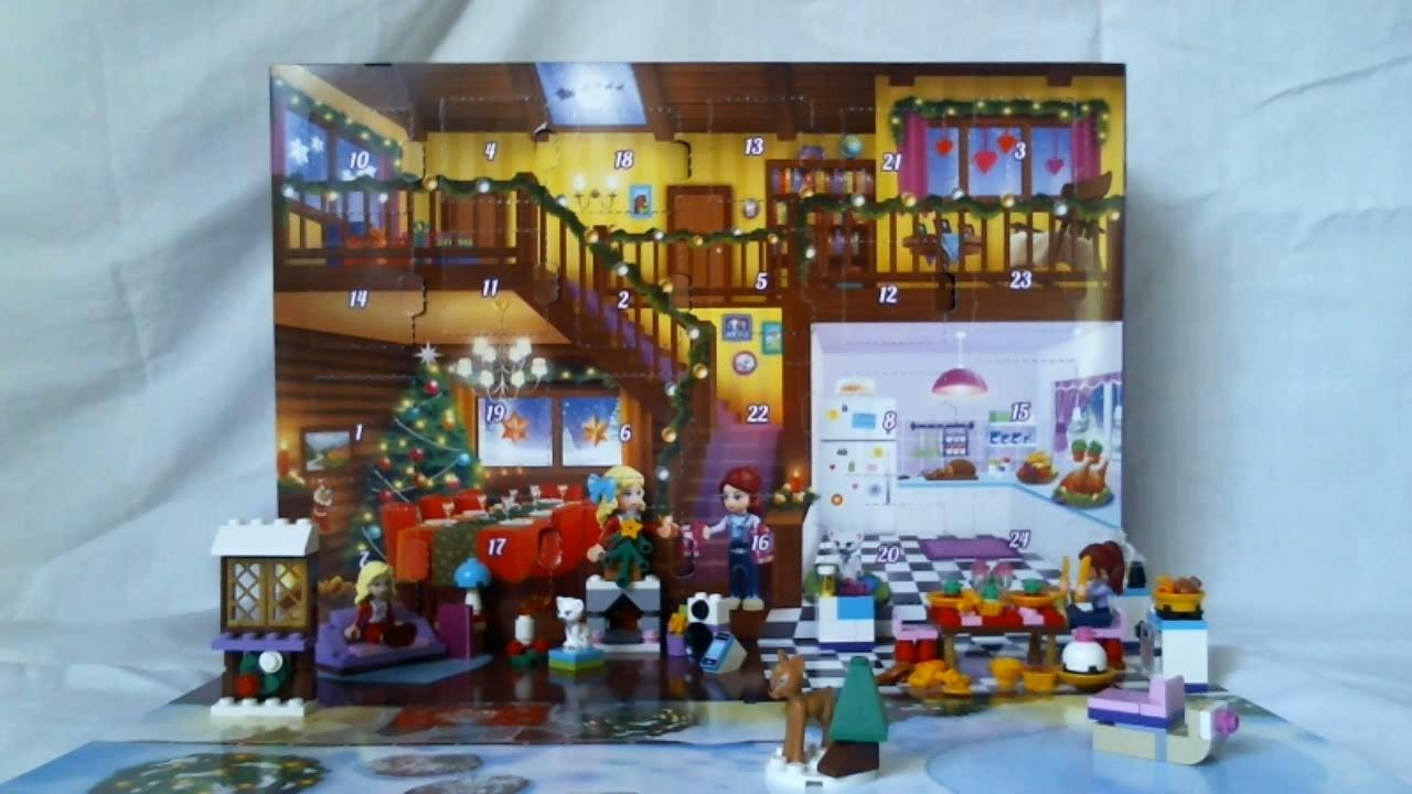 calendrier de l 39 avent lego friends jour 22 2014 fran ais youtube. Black Bedroom Furniture Sets. Home Design Ideas