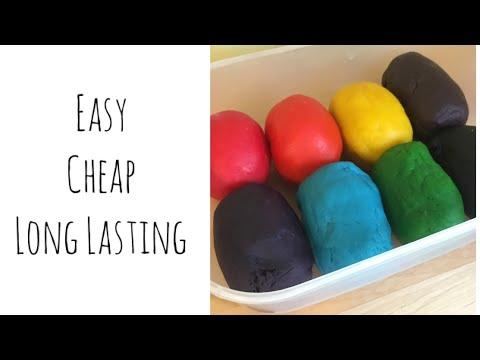 Home Made Play Dough / Doh Recipe