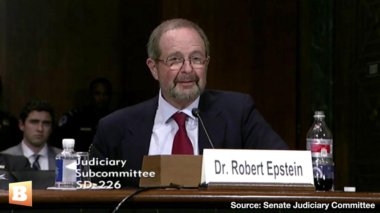 Resultado de imagen de ROBERT Epstein testifying before the Judiciary Subcommittee/US Congress