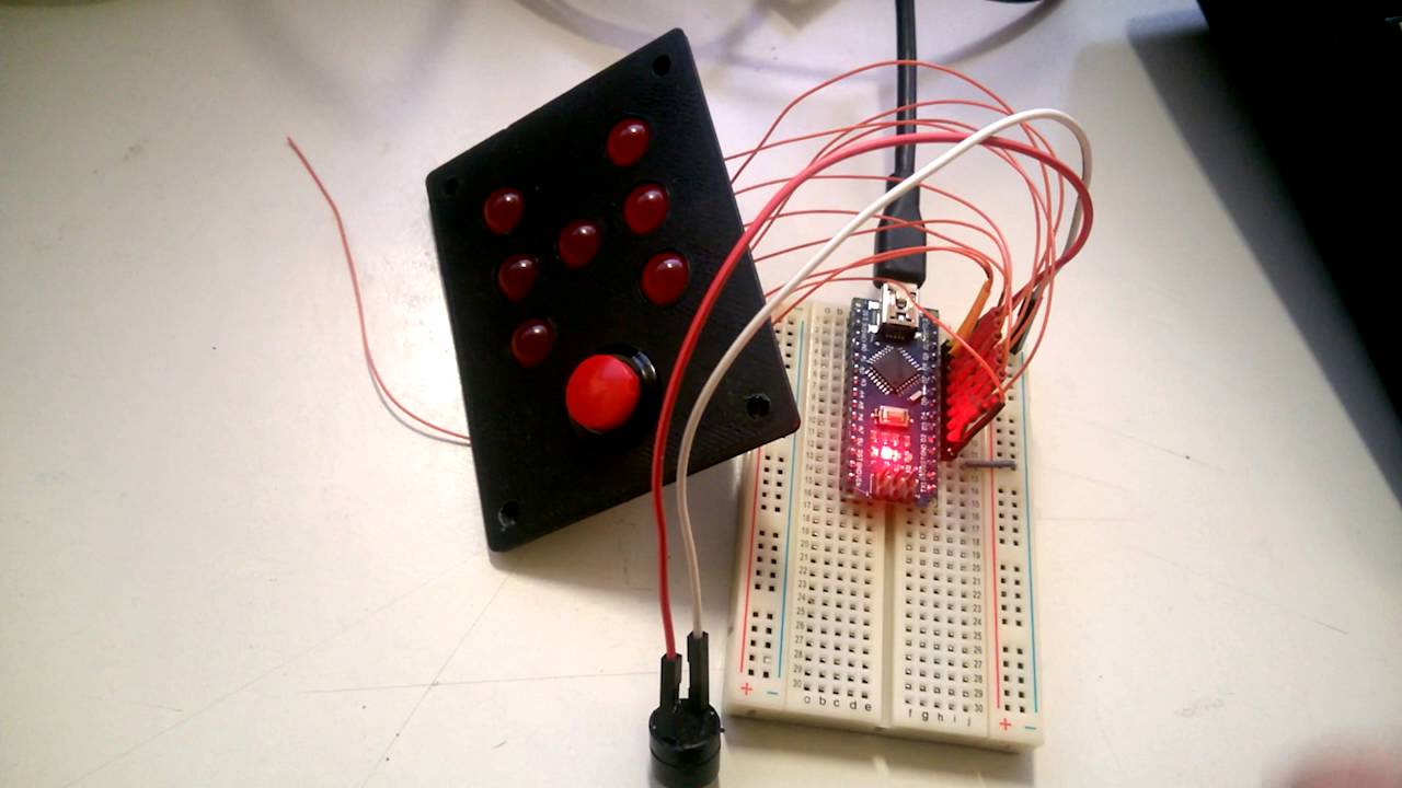 This Is A Electronic Dice Circuit Board Basically It Will Generate A