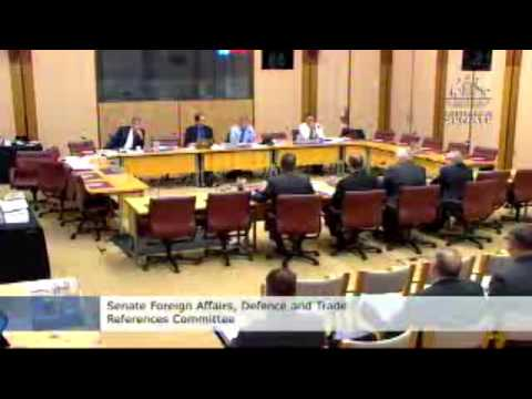 NG / BAE / DTMC - JSF Hearing - Foreign Affairs, Defence and Trade References Committee