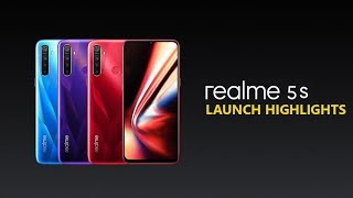 Realme 5S Launch Event Highlights with Price and Offers
