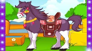 Мультик про лошадку | игры лошадки | мультфильм про лошадь| мультики про лошадей| мультики про коней