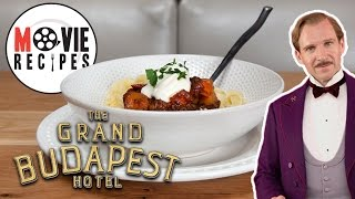 The Grand Budapest Hotel   Movie Recipes