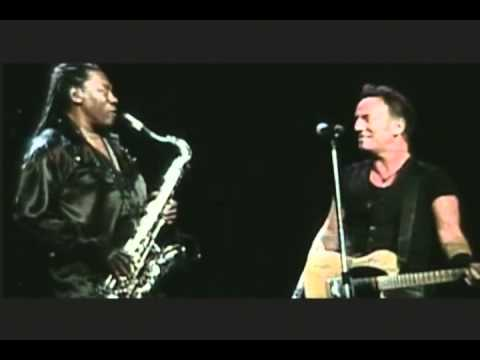 BRUCE SPRINGSTEEN AND THE BIG MAN  .. 1995 and 2009