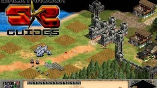 The Siege of Paris - French M5 Hard Walkthrough - Age Of Empires II HD Kings
