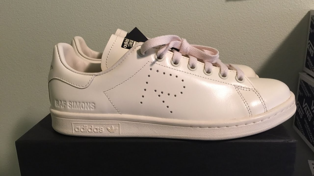 raf simons adidas stan smith cream