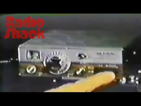 1976 Radio Shack TV Commercial  CB Radios with Paul Burke