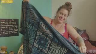 TERRAZZO AFGHAN - Mosaic Crochet Motif in the Round Tutorial