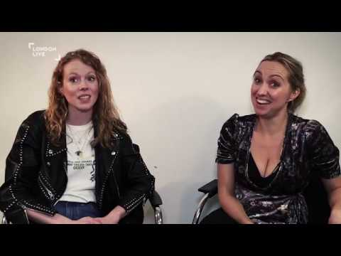 Zoe Boyle and Kerry Howard on the final series of Witless  London Live