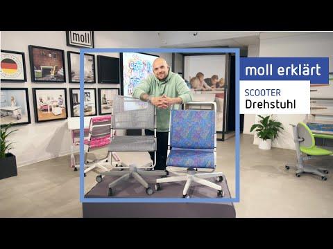 moll Scooter: moll erklärt den höhenverstellbaren Kinderdrehstuhl Scooter