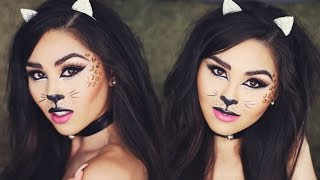 kitty makeup look
