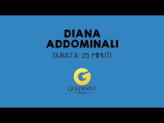 Addominali con Diana