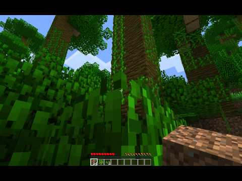 Minecraft Snapshot 12w03a : Jungles And Jungles And Jungles.