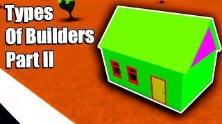 Arten von Bloxburg Builders! • Teil II • Roblox