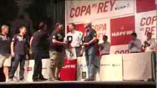 """S.A.R. el Príncipe entrega los trofeos de la regata de vela """"32ª Copa del Rey Mapfre"""""""